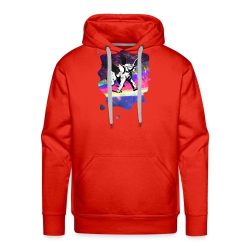 Voir voler un éléphant - Sweat-shirt à capuche Premium pour hommes