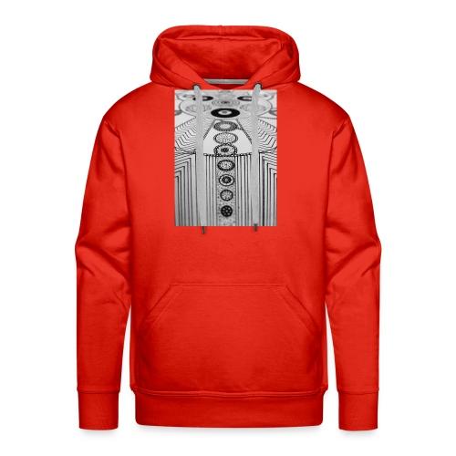 MandalArt Design circles - Mannen Premium hoodie