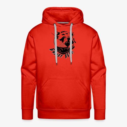 Galiot Bear Logo schwarz - Männer Premium Hoodie