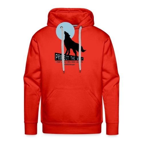 loupteeshhirt3 - Sweat-shirt à capuche Premium pour hommes