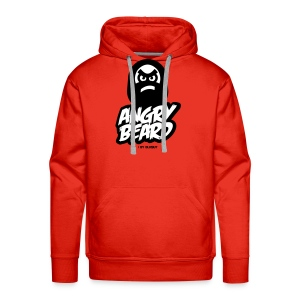 ANGRY BEARD - Bluza męska Premium z kapturem