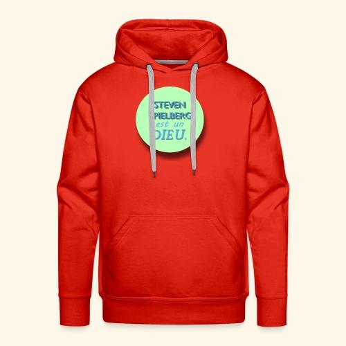 Steven Spielberg - Collection Flat Circle - Sweat-shirt à capuche Premium pour hommes