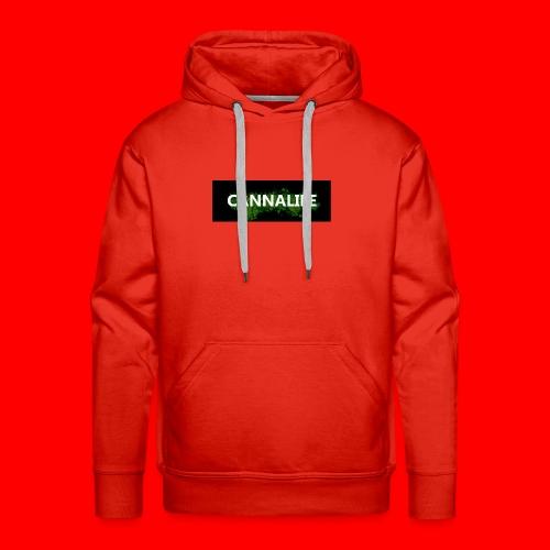 Cannalife - Herre Premium hættetrøje