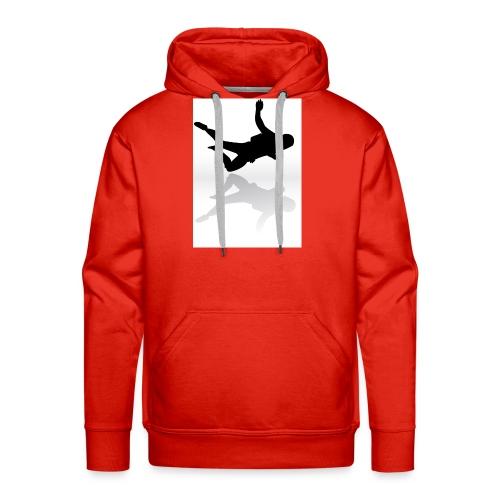 Paracaidista - Sudadera con capucha premium para hombre
