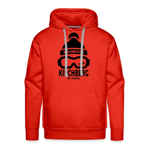 Après-ski Kirchberg - Mannen Premium hoodie