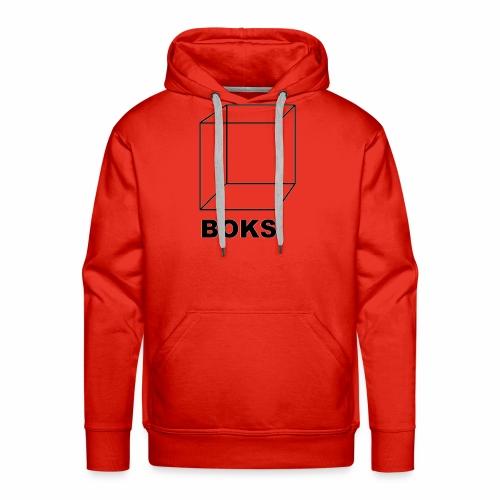 boks transparant - Mannen Premium hoodie