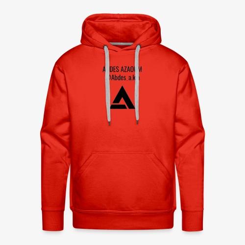 ABDES AZAOUM - Mannen Premium hoodie