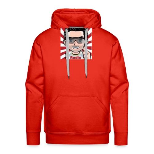 RadioLive - Sweat-shirt à capuche Premium pour hommes
