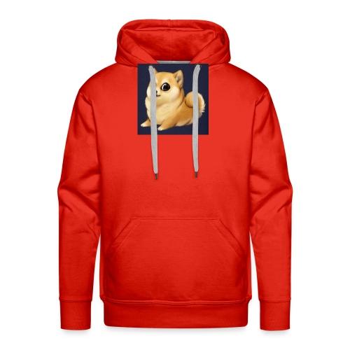 CuteDogiiShirt<3 - Männer Premium Hoodie