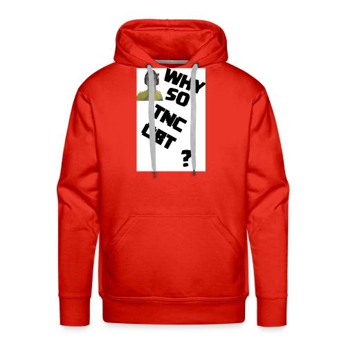 Maglietta DONNA Why so TNCOBT? - Felpa con cappuccio premium da uomo