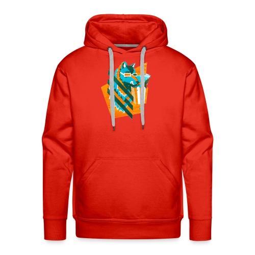 popcornwolf_logo_merch-0 - Mannen Premium hoodie