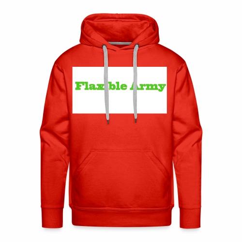 ,,Flaxible Army'' Kollektion - Männer Premium Hoodie