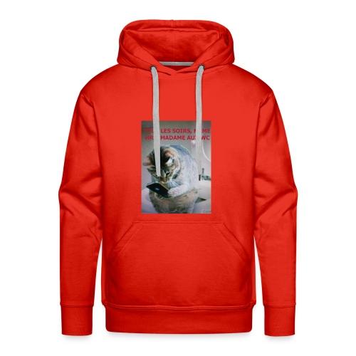 MA FEMME AH le ROYAUME des FEMMES Oui OUI - Sweat-shirt à capuche Premium pour hommes