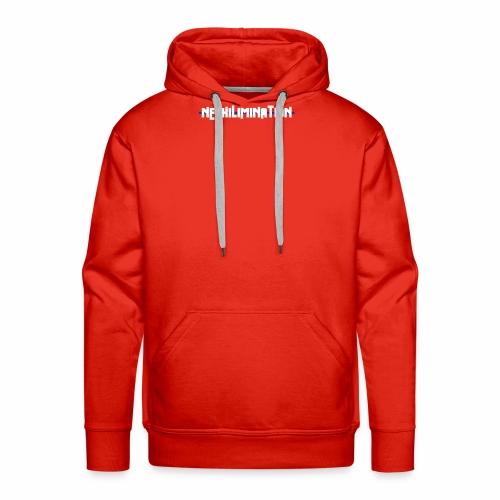 nephilimination logo white - Mannen Premium hoodie