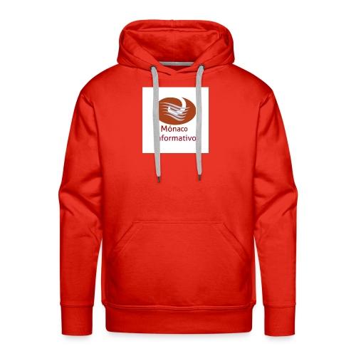 Monaco Informativo - Sweat-shirt à capuche Premium pour hommes
