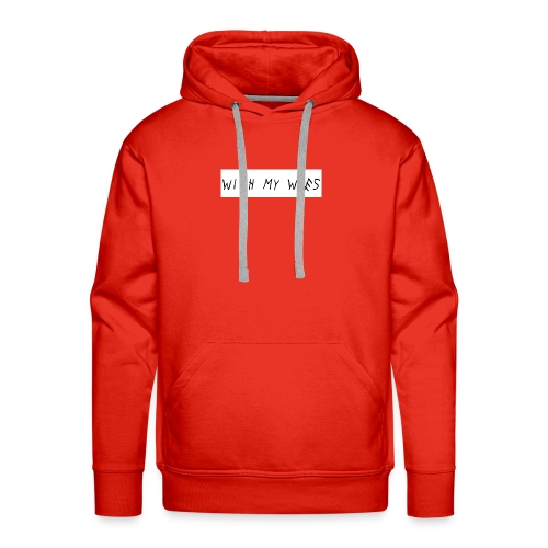 With My Woes - Mannen Premium hoodie