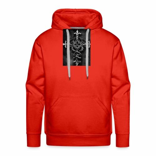 Gothic Kreuz - Männer Premium Hoodie