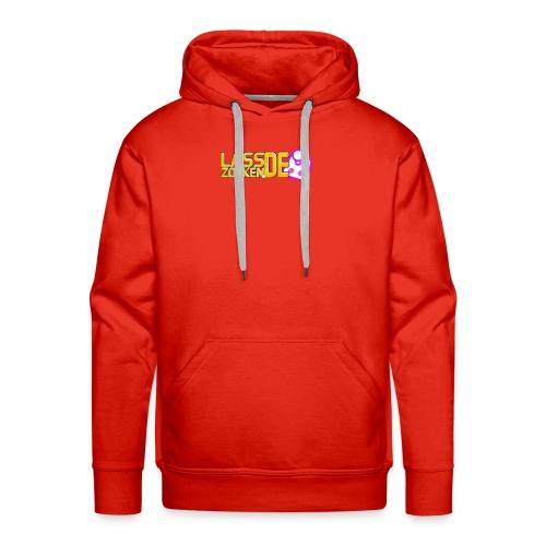 LassZockenDe Logo - Männer Premium Hoodie