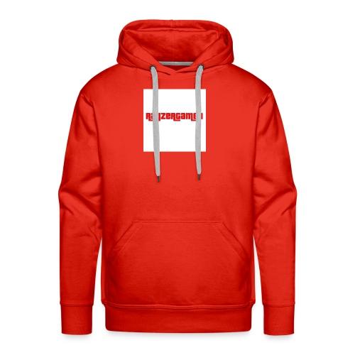 RayZerGamer logo - Men's Premium Hoodie