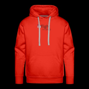 Logo Dark text - Men's Premium Hoodie