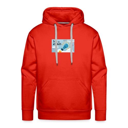 astuces mansour - Sweat-shirt à capuche Premium pour hommes