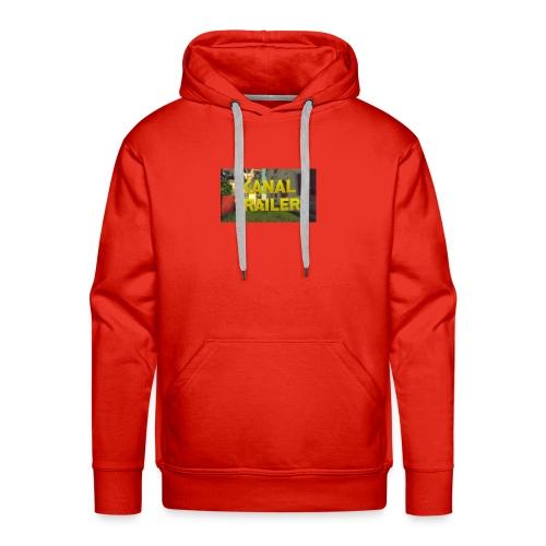 Das T-Shirt fpnder Kanal eröffnung nur für korze - Männer Premium Hoodie