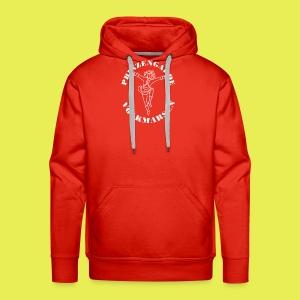 Logo_Prinzengarde_weiss - Männer Premium Hoodie