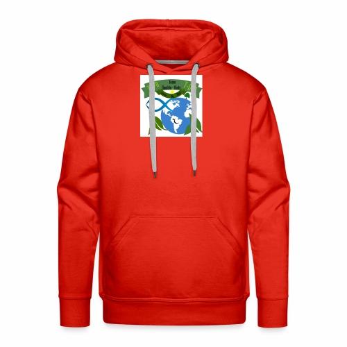 logo dumble baits - Sweat-shirt à capuche Premium pour hommes