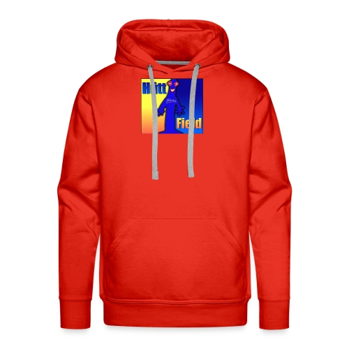 Hüttfield-Logo - Männer Premium Hoodie