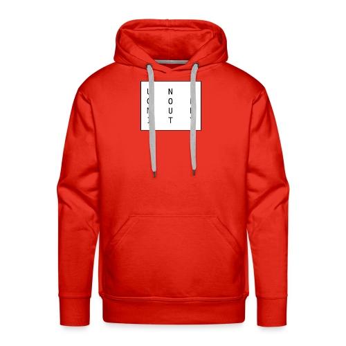 uni logo - Männer Premium Hoodie