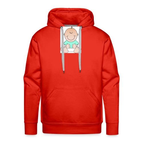 rompertje baby jongen - Mannen Premium hoodie
