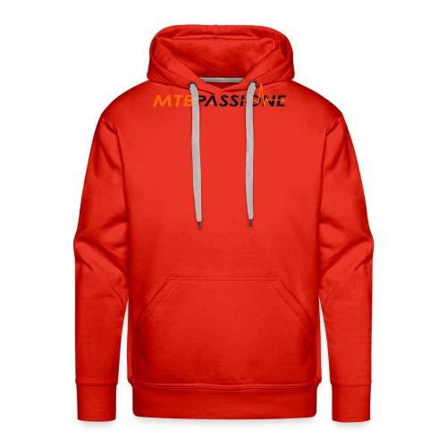 Logo Grafico MTB Passione - Felpa con cappuccio premium da uomo