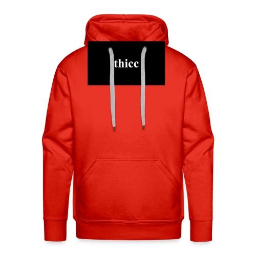 thicc - premium design - Männer Premium Hoodie