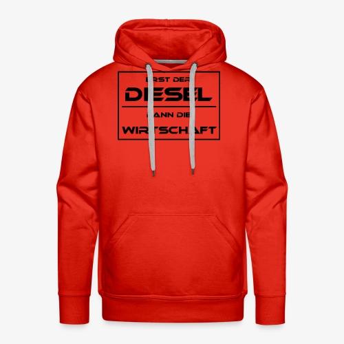 Diesel Fahrverbot Wirtschaft - Männer Premium Hoodie