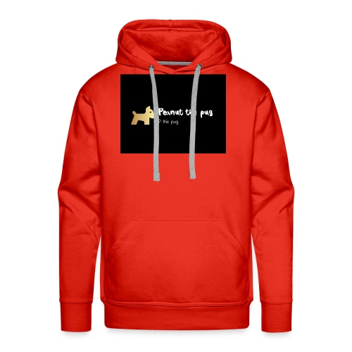 Peanut the Pug Edition - Men's Premium Hoodie