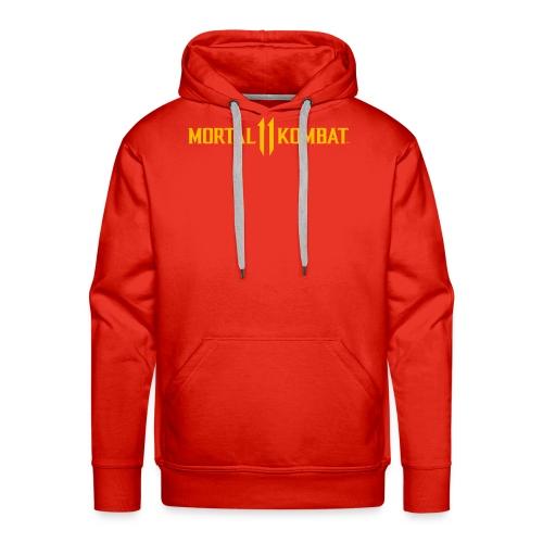 Mortal Kombat 11 logo - Men's Premium Hoodie