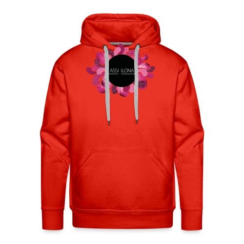 Miesten t-paita punainen logo - Miesten premium-huppari