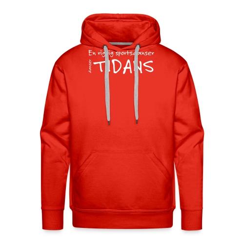 tidans-H - Herre Premium hættetrøje