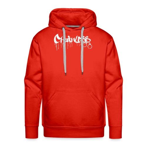 Chainless Records - Sudadera con capucha premium para hombre