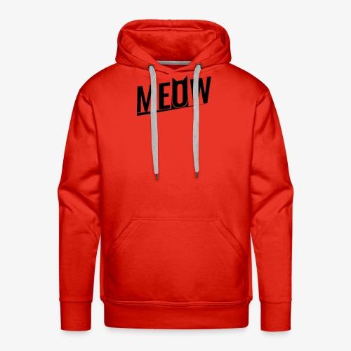 Meow black - Bluza męska Premium z kapturem