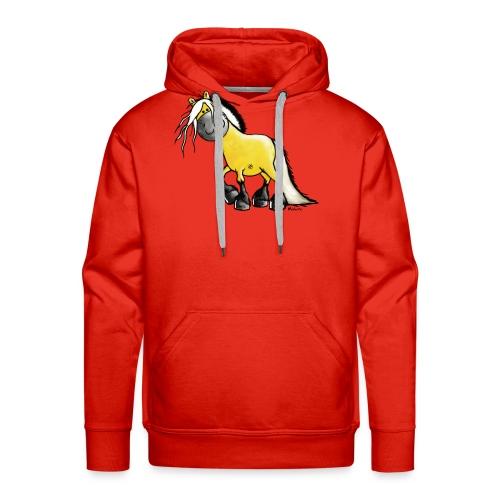 fjord_horse - Men's Premium Hoodie