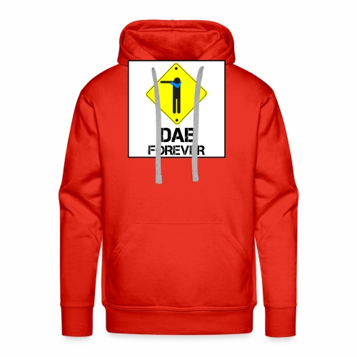 Dab Forever Yellow Black - Felpa con cappuccio premium da uomo