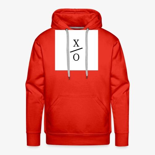 X/0 logo square - Premiumluvtröja herr
