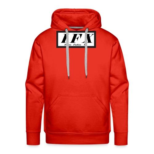 Logo Hoodie 2[IFX] - Männer Premium Hoodie