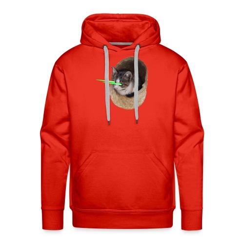 chatlazer - Sweat-shirt à capuche Premium pour hommes