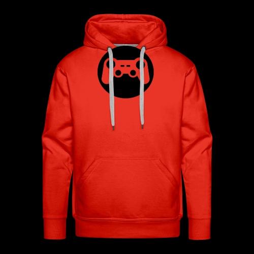 Zocker Prototype (Controller) Logo schwarz - Männer Premium Hoodie