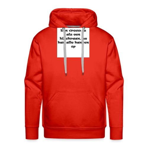 YOLO shirt - Mannen Premium hoodie