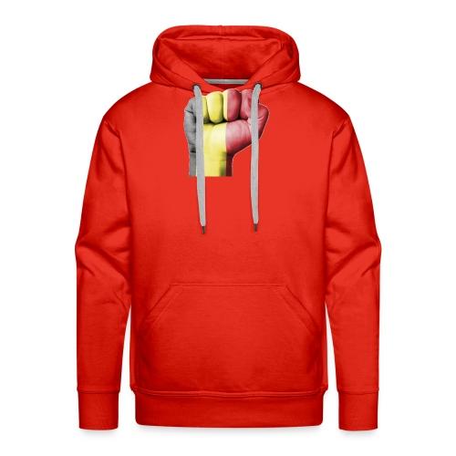 La résistance Belge - Sweat-shirt à capuche Premium pour hommes