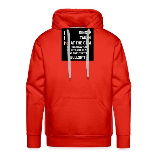 Sodrop single - Mannen Premium hoodie