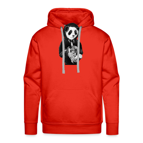 pandit graffiti bear - Mannen Premium hoodie